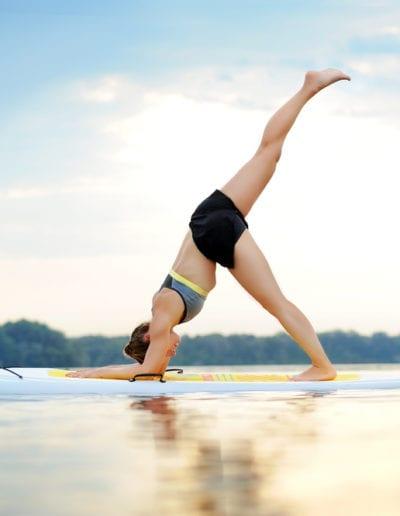 Sunrise Paddleboard Yoga