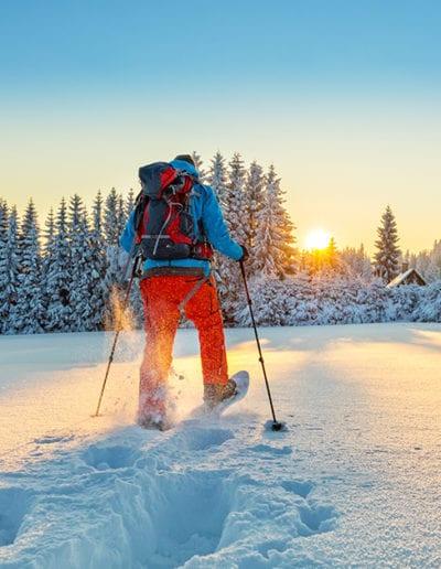 Minnesotan Snowshoe Adventure